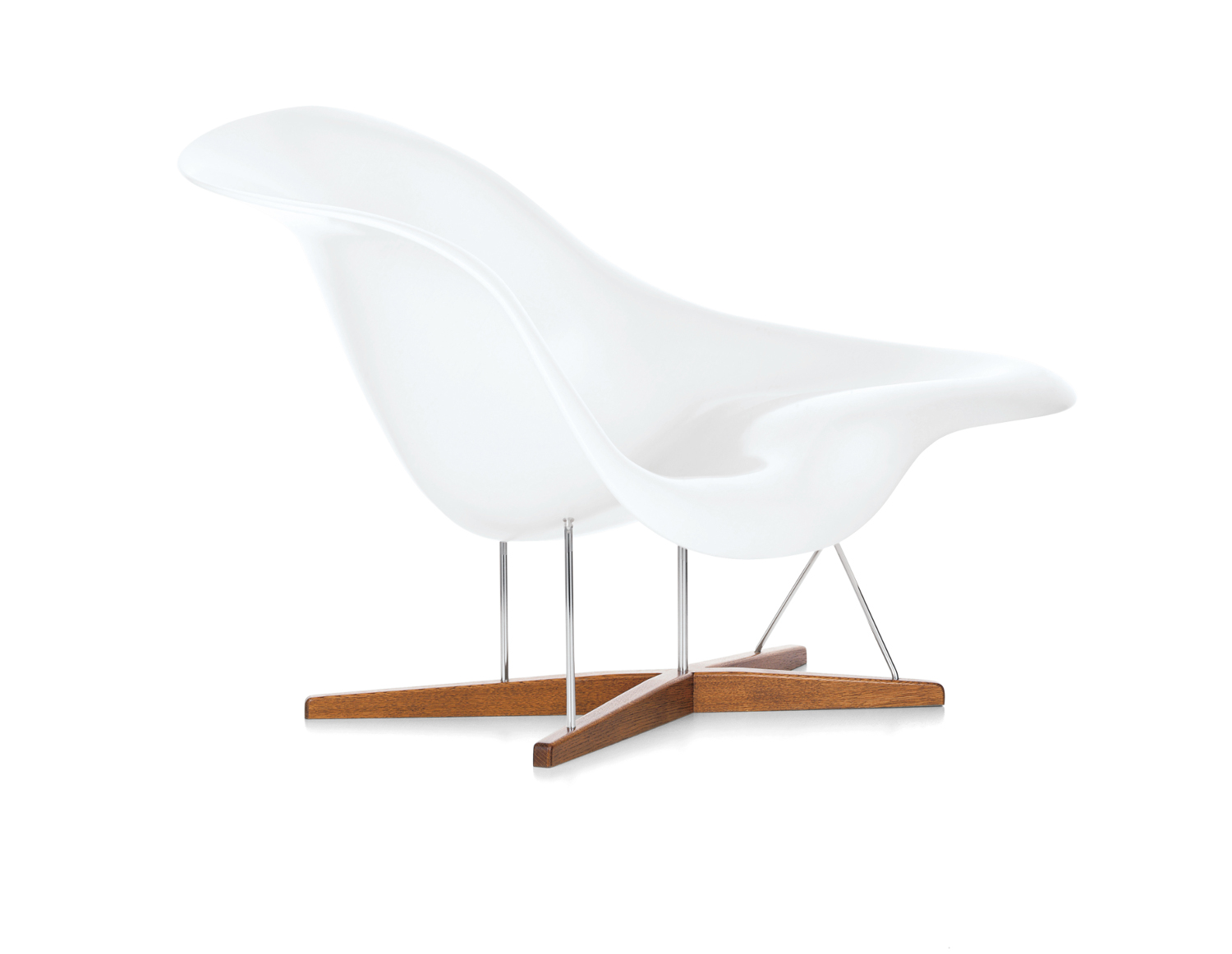 Armchairs la chaise for Chaise eames vitra
