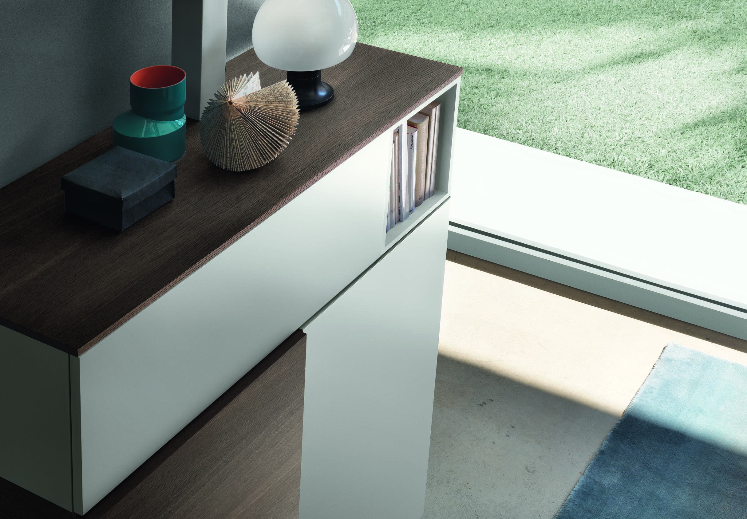 Storage cabinets jesse open o 02 for Sideboard loca