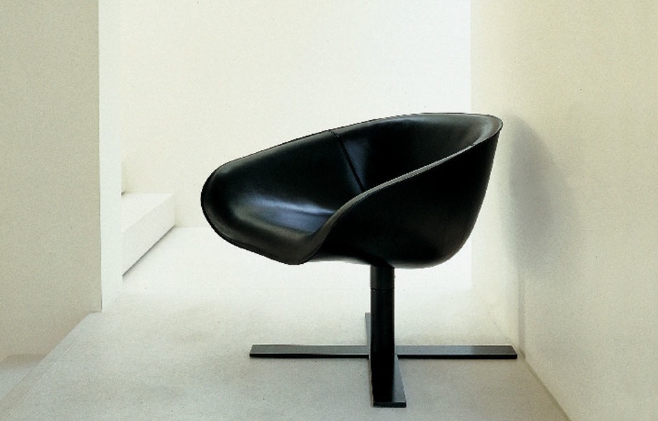 Mart Tub Chair With Swivel Base   Painted Base