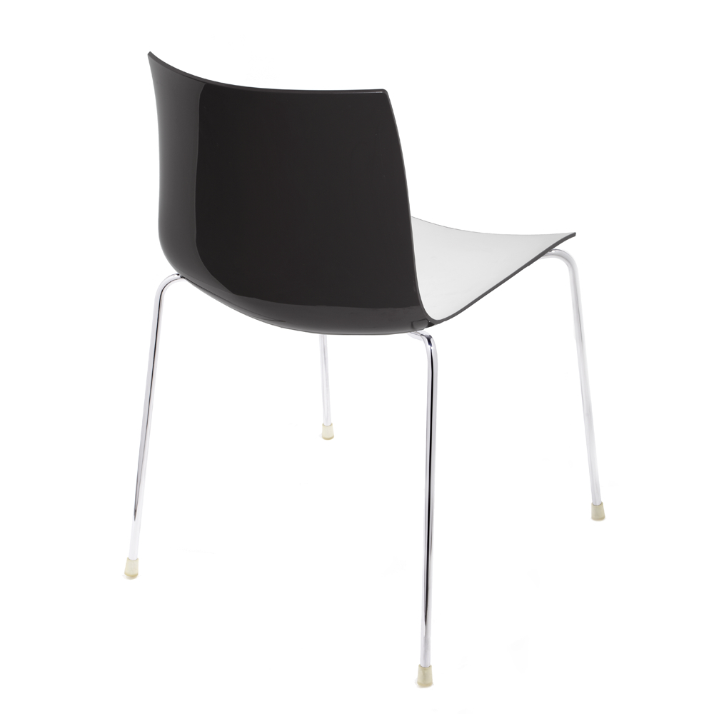 Catifa 46 Chair In Black And White
