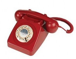 Red 746 phone