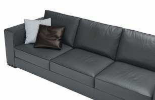 Arthur Sofa from Jesse in Leather - detail