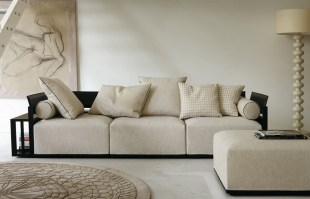 BOLERO sofa in Black lacquer_Composition 1