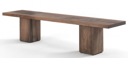 Boss Executive Bench_walnut
