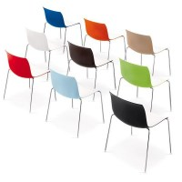 Catifa 46 four leg chairs, in a range of two tone finishes