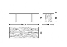 Celerina dining table_dimensions