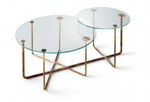 Connection double coffee table