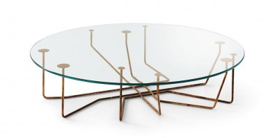 Connection round coffee table