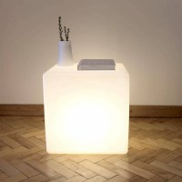 Cube table light