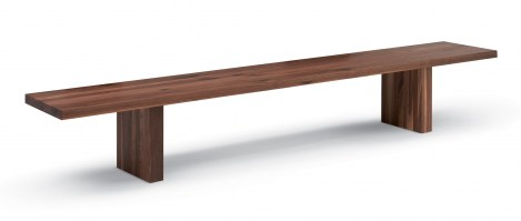 Day by Day Bench from Riva 1920 in Walnut