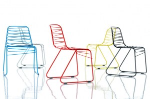 Flux chairs from Magis