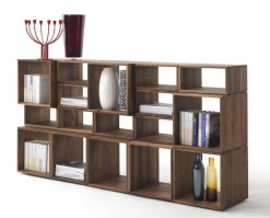 Freedom bookcase in walnut main image_1