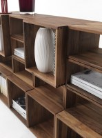 Freedom bookcase in walnut detail image_1
