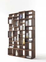 Freedom bookcase in walnut Project 4 Image