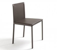 Ginevra chair from Riva 1920 in leather