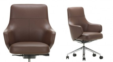 Grand Executive low back swivel chair