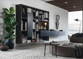 Jesse Open bookcase composition O-21