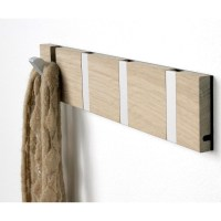Knax coat hooks in oak