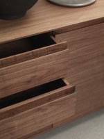 KYOTO 2013 sideboard from Riva1920_drawers detail walnut