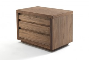 KYOTO 5 Bedside cabinet in Walnut_main image
