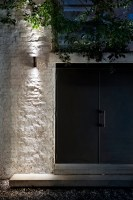 Clessidra wall light from Flos - outdoors