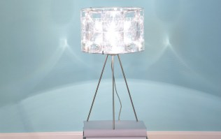 The Lighthouse Tripod Table light - 35cm high shade