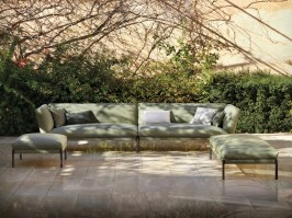 Livit modular outdoor sofas from Expormim - 2x chaise