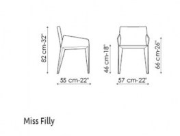 Miss Filly line drawn