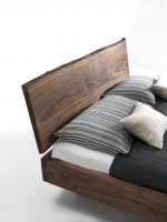 NATURA 6 bed in Walnut_headboard detail