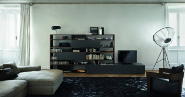 Jesse Open bookcase composition O-18