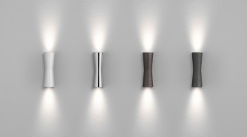 Clessidra wall light from Flos