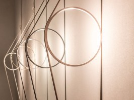 Wirering by Flos - atmoshperic wall lighting
