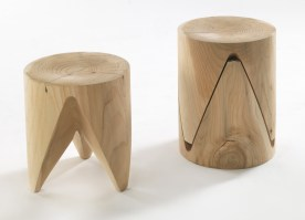 Zig and Zag stool from Riva 1920