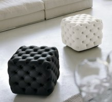 Alcide, cubes in black and white