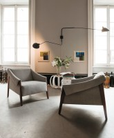Ara armchair from Porada
