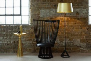 Base Floor Lamp - brushed brass