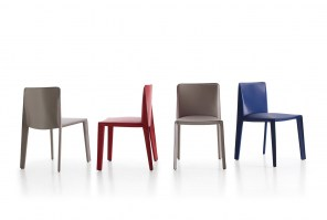 Doyl chair from B&B Italia in a range of leather finishes