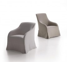 Agathos chairs high and low backs_loose covers