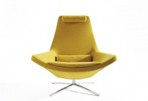 Metropolitan swivel chair, polished base_main