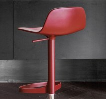 Bonnie stool, in red