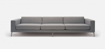 HM34e five seat sofa, wide arms