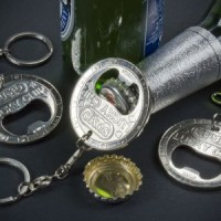 Lucky Chip bottle opener keyring
