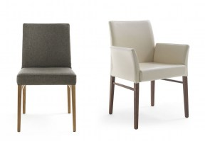 Hellen arm and dining chairs from Riva1920