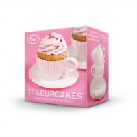 Teacup cupcake moulds