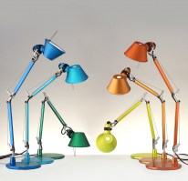Tolomeo classic table light detail - new colours